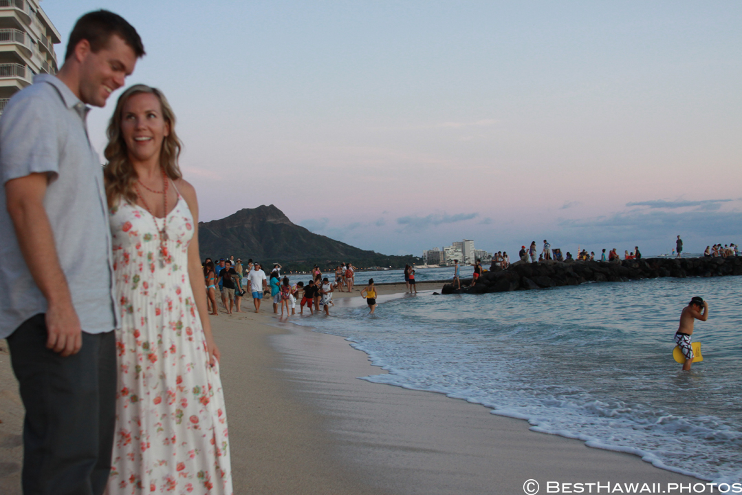 Hawaii Engagement photos by BestHawaii.photos Waikiki Honolulu 2015_08292015_6270