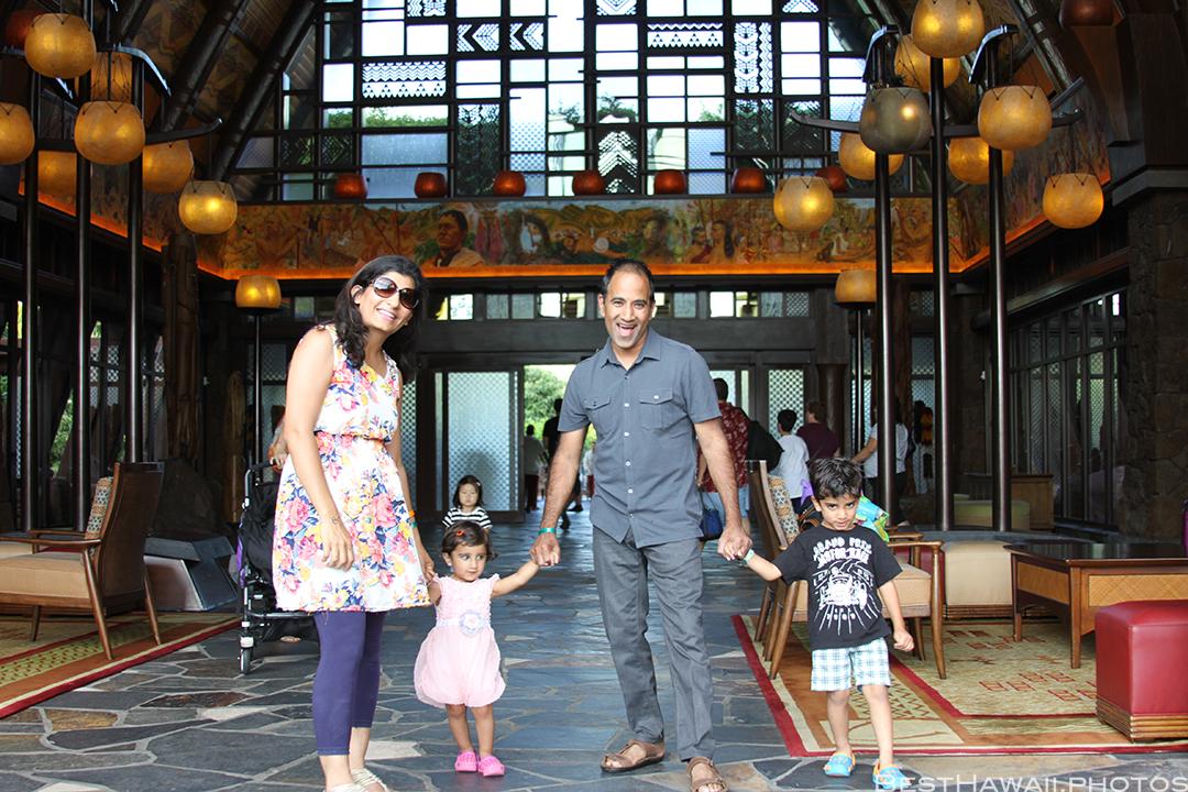 Aulani Disney Resort Hawaii beach Sunset Family by BestHawaii.photos 2015_09082015_6914