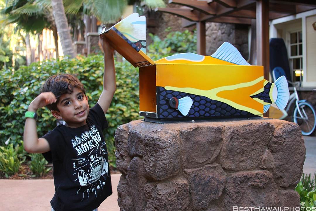 Aulani Disney Resort Hawaii beach Sunset Family by BestHawaii.photos 2015_09082015_7035