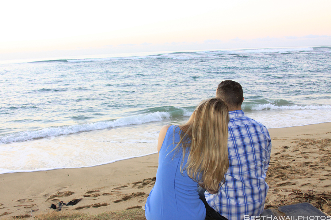 Diamond Head Beach Sunrise Engagement by Pasha www.BestHawaii.photos 011020168349