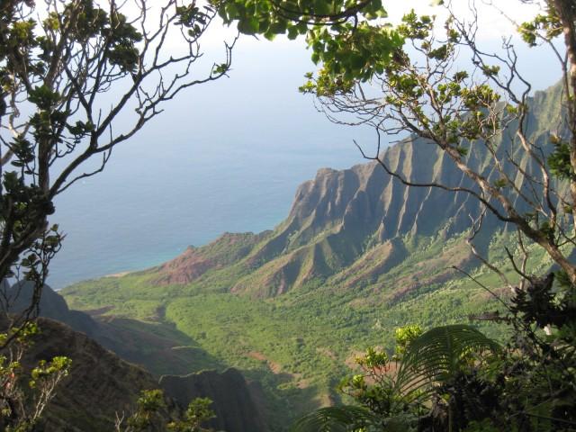 Kalalau Valley overlook Kauai island Hawaii by Pasha www.BestHawaii.photos