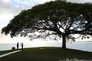 Sunset Wedding Foster's Point Hickam photos by Pasha www.BestHawaii.photos 20181229013